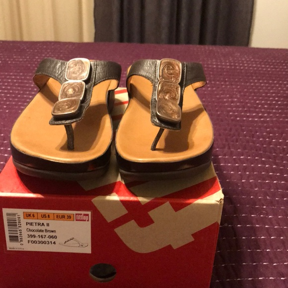 d3711aa87 Pietra II Chocolate Brown Fitflop
